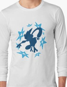 Greninja Shurikens Long Sleeve T-Shirt