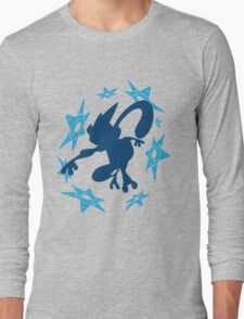 Greninja Shurikens Long Sleeve T-Shirt