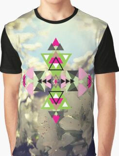 Spring Abstraction Graphic T-Shirt