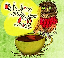 What my #Coffee says to me - July 20, 2013 Pillow by catsinthebag