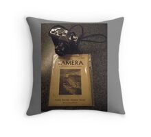 The Camera 02 Throw Pillow