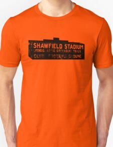 Shawfield Stadium, Glasgow tshirt Unisex T-Shirt