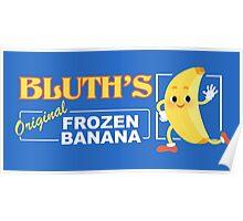 Frozen Banana Logo Poster