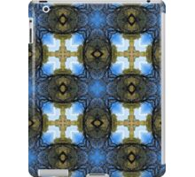 Kaleidoscope Cross on the Trail iPad Case/Skin
