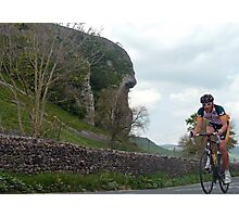 Cycling in the Dales Photographic Print