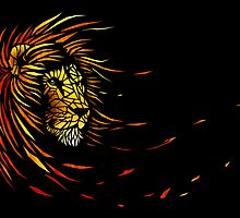 Lion's Brightness by Nicolas MAUREL Art