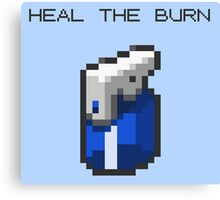Heal The Burn Canvas Print