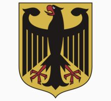 German Coat of Arms - Olympic Symbol One Piece - Short Sleeve