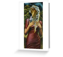 Love and War Goddess Greeting Card