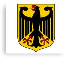German Coat of Arms - Olympic Symbol Canvas Print