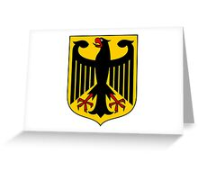 German Coat of Arms - Olympic Symbol Greeting Card