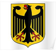German Coat of Arms - Olympic Symbol Poster