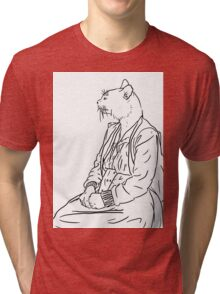 The Old Cat Lady Tri-blend T-Shirt