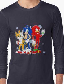 sonic runners Long Sleeve T-Shirt