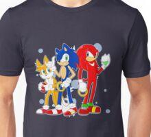 sonic runners Unisex T-Shirt