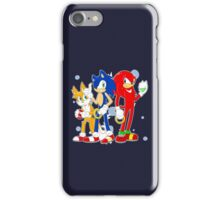sonic runners iPhone Case/Skin