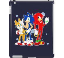 sonic runners iPad Case/Skin