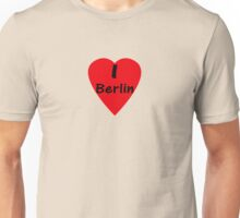 I Love Berlin - T-Shirt Berliner Unisex T-Shirt