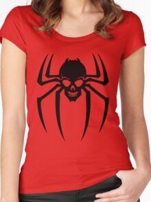 SpiderSkull Women's Fitted Scoop T-Shirt