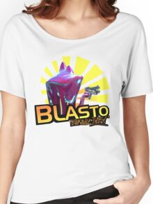 Mass Effect - BLASTO w/quote  Women's Relaxed Fit T-Shirt