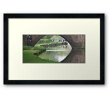 Distant Boats Framed Print