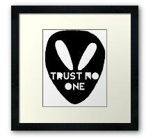 Alien- Trust No One Framed Print