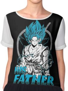 Super Saiyan Goku God Dad Shirt - RB00486 Chiffon Top