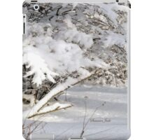 Mother Nature Wears a Bridal Gown... iPad Case/Skin