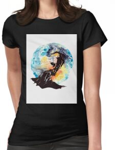 The Illusive Man Womens Fitted T-Shirt