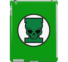 Green Skull iPad Case/Skin