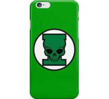 Green Skull iPhone Case/Skin