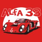 Alfa Romeo 33 Sports Racer  by velocitygallery