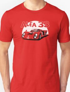 Alfa Romeo 33 Sports Racer  T-Shirt