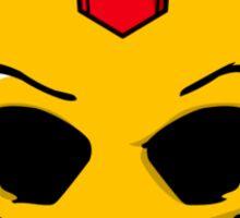 Iron Skull Sticker
