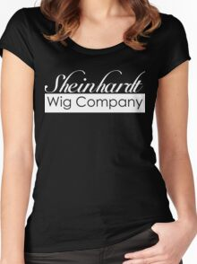 30 Rock Sheinhardt Wig Company Women's Fitted Scoop T-Shirt