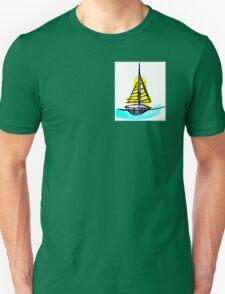 Summer Sail Boat Unisex T-Shirt