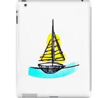 Summer Sail Boat iPad Case/Skin