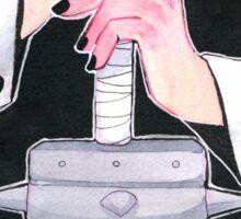 Bruised Knuckles Sticker