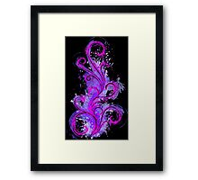 Dark Abstract Framed Print