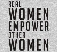 Real Women Empower Other Women Kids Tee