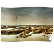 Tollesbury Harbour Poster