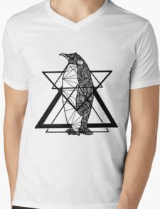 Waddle Waddle Mens V-Neck T-Shirt