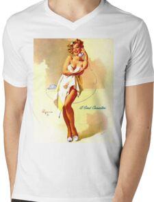 Gil Elvgren Appreciation T-Shirt no. 01 Mens V-Neck T-Shirt