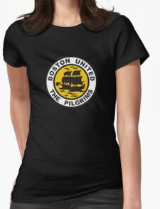 Boston United Badge Womens Fitted T-Shirt