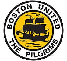 Boston United Badge Photographic Print