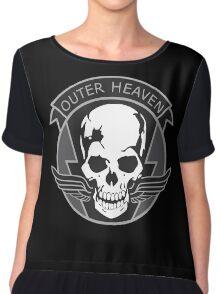 MGS - Outer Heaven Logo Chiffon Top