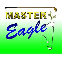 Master of the Eagle - Golf Photographic Print