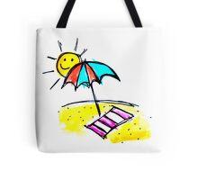 Sunny Beach Day Tote Bag