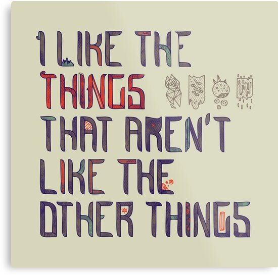 The Things I Like by Hector Mansilla