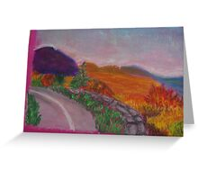 Colorful Road Greeting Card